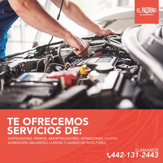 El_padrino_taller_mecánico_Mesa_de_tra