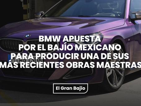 BMW apuesta por el Bajío mexicano para producir una de sus más recientes obras maestras.