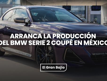 Arranca la producción del BMW Serie 2 Coupé en México