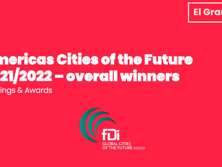 Americas Cities of the Future 2021/2022 –overall winners
