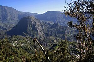 Piton Enchaing Salazie Réunion