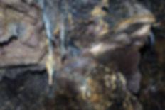 sculpture tunnel de lave