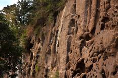 falaises de Pouzzolane
