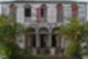 Maisons rouges Saint Louis Réunion