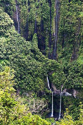 Cascades Takamaka Réunion