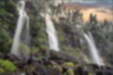 cascade éphémère du Tremblet