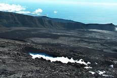 Montée au cratère