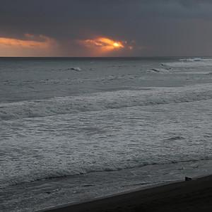 Des couchers de soleil sur l'île