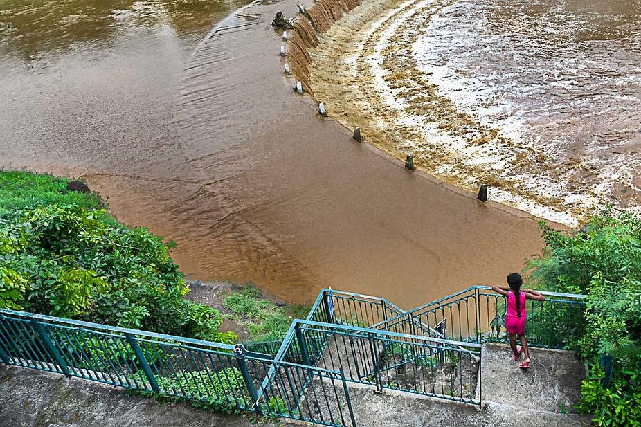 riviere d'abord en crue