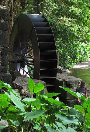 Moulin à eau Saint Paul Réunion