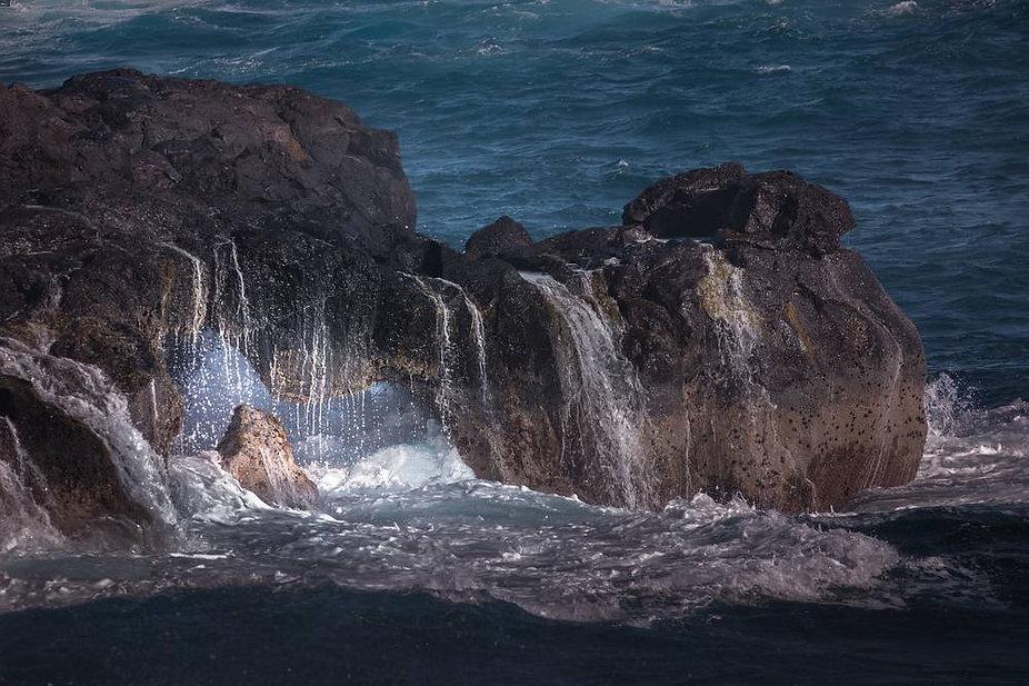 Arche naturelle de Grand Cap à Manapany Ile de La Réunion