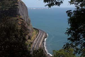 Route du littoral Réunion