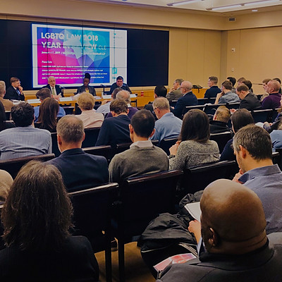 LGBTQ LAW 2018 YEAR IN REVIEW CLE