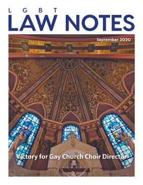 Victory for Gay Church Choir Director