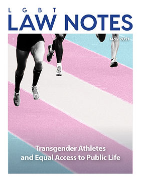 Transgender Athletes and Equal Access to Public Life.