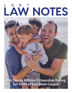 9th Circuit Affirms Citizenship Ruling for Child of Gay Male Couple