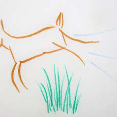 Deer Leaping
