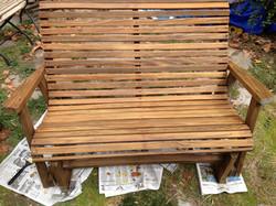 Refurbished rocker bench