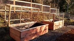 Wildlife proof raised garden beds