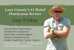 Guy Friday 2020 card