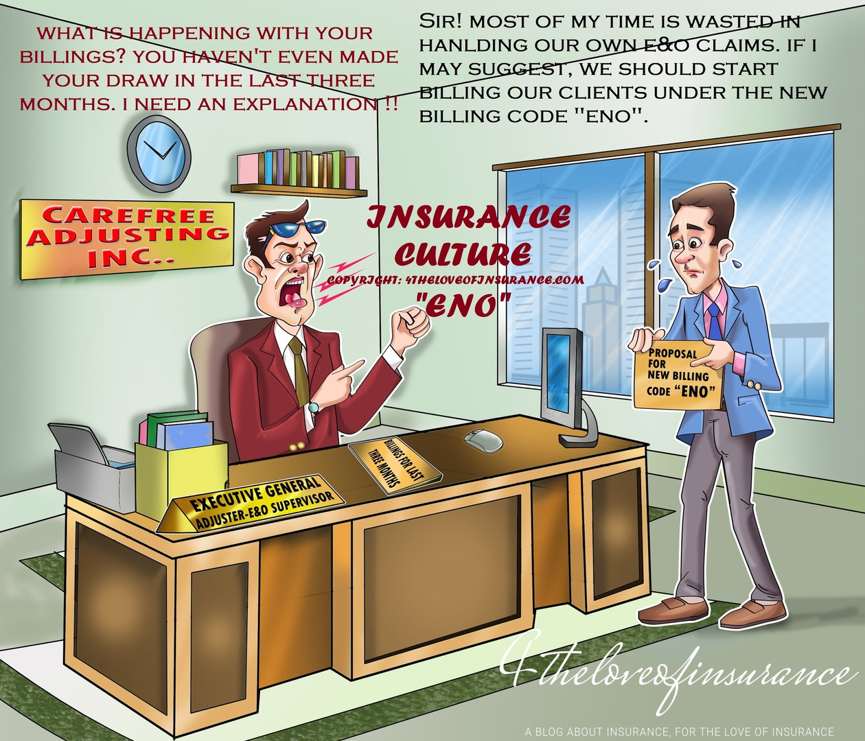 The Billing Code - ENO