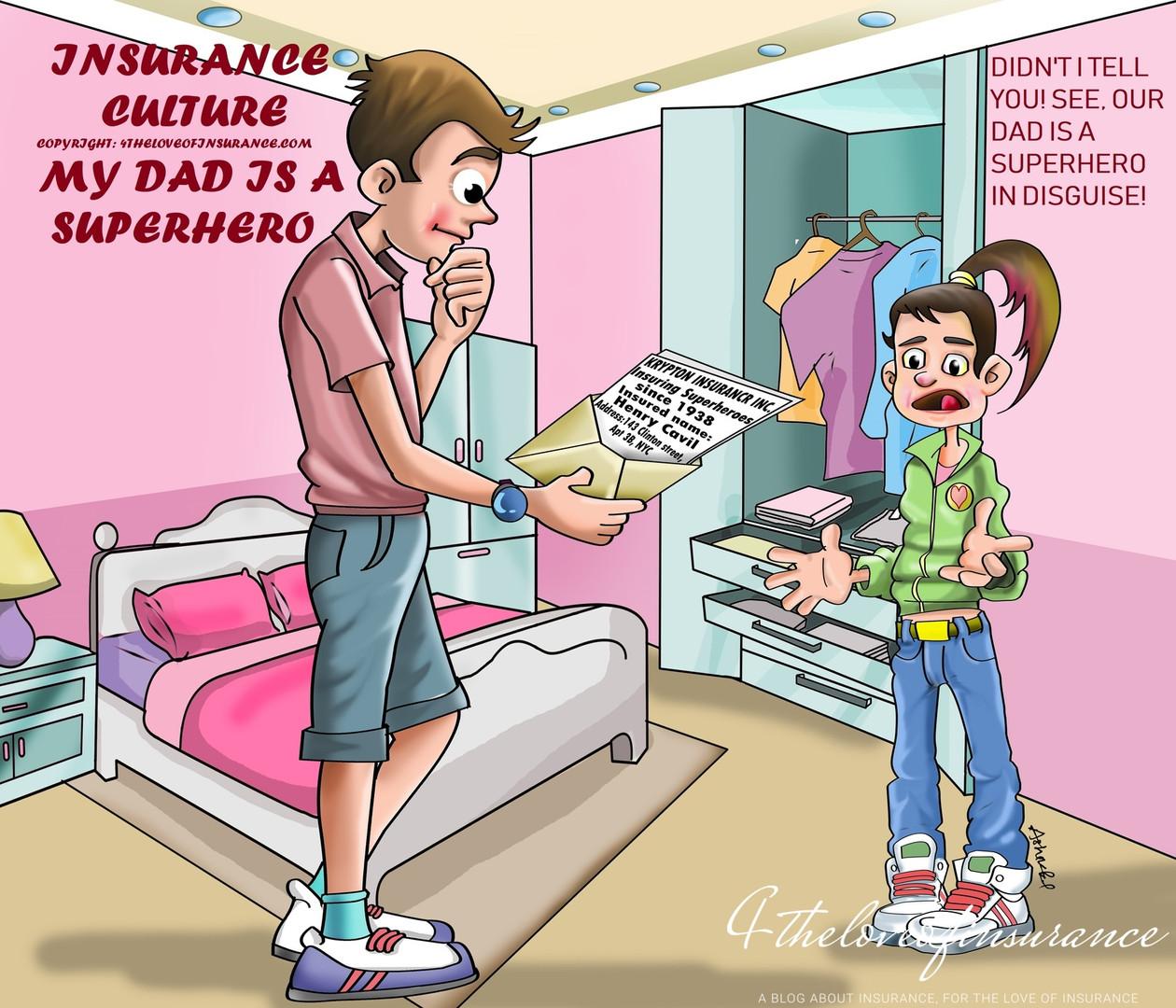 May Dad is a Superhero