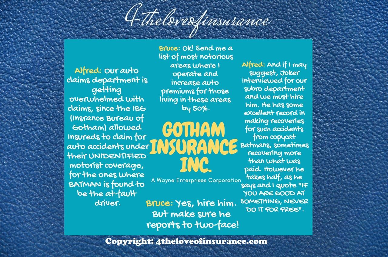 Gotham Insurance Inc.