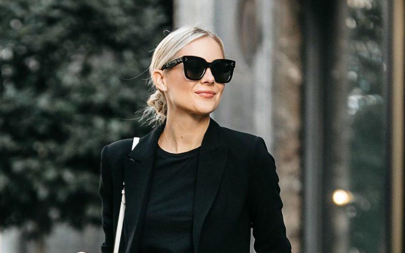Black-Blazer-and-black-shirt-For-Women-3
