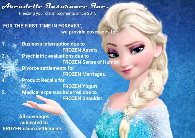 Arendelle Insurance Inc.
