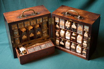 Medicine Chest of Bonnie Prince Charlie's Physician (Dr. Stuart Thriepland)                Talk