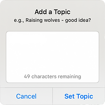 add topic