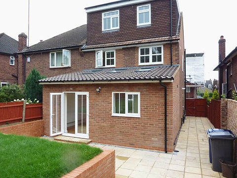 home extension, extension electrics, kitchen extension, electrics for extension