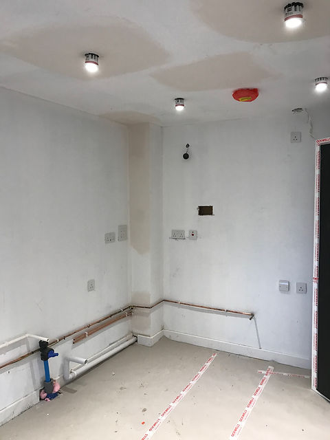 electrical rewires, rewiring house,