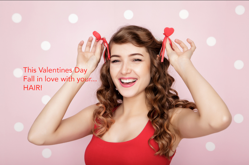 valentines day special hair salon