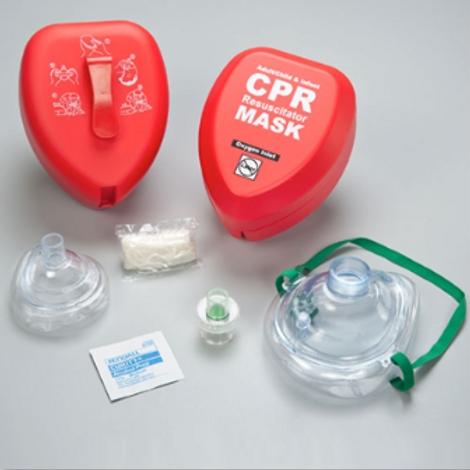 Adult / Child & Infant CPR Mask w/ Hard Case