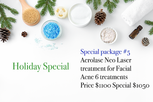 Holiday Special Package #5