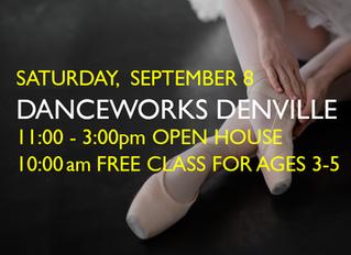 OPEN HOUSE & DANCE CLASS