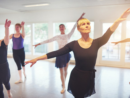 WE OFFER ADULT CLASSES for all levels and ages.