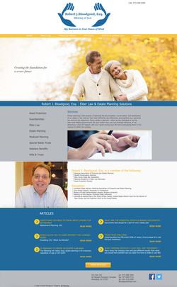 Robert Bloodgood Website Design