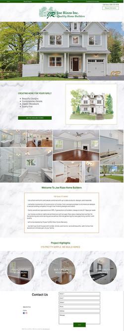 Joe Rizzo Website Design