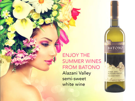 Summer is the best time for white wines