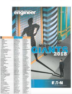 Triad Engineering is on the list of MEP Giants 2018