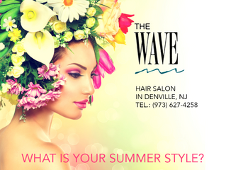 SUMMER IN THE WAVE HAIR SALON!