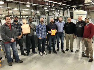 Group on-site CPR Training for Magna Power Electronics Company in Flemington, NJ