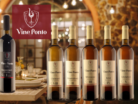 VINE PONTO. TRADITIONS AND QUALITY FROM GEORGIA