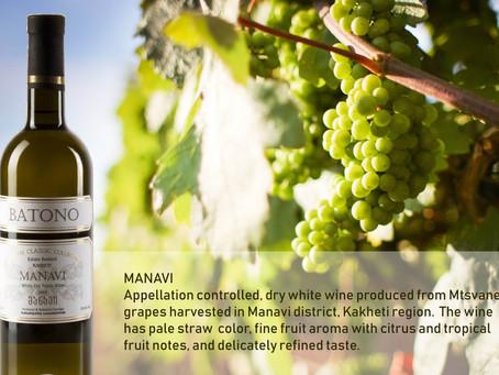 Manavi wine from Batono