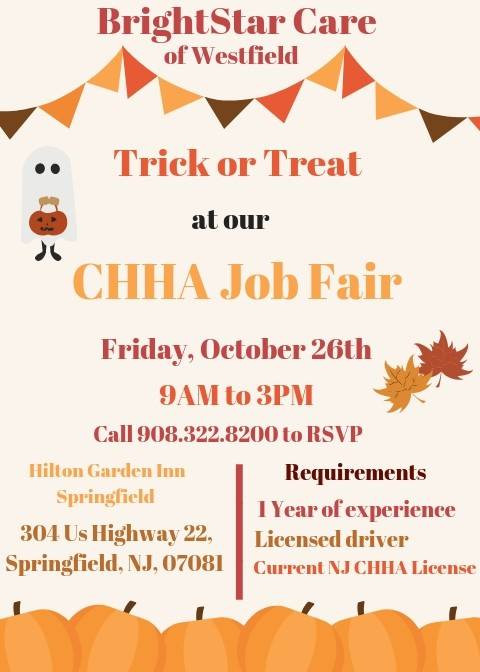 CHHA Job Fair at Oasis Event and Conference Center