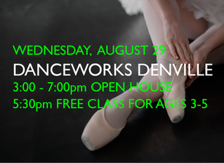 OPEN HOUSE & FREE CLASS