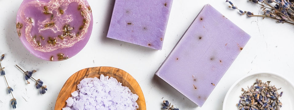lavender-soap-bars-on-white-top-view-CUY
