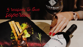 5 reasons to love Saperavi from Timbrus